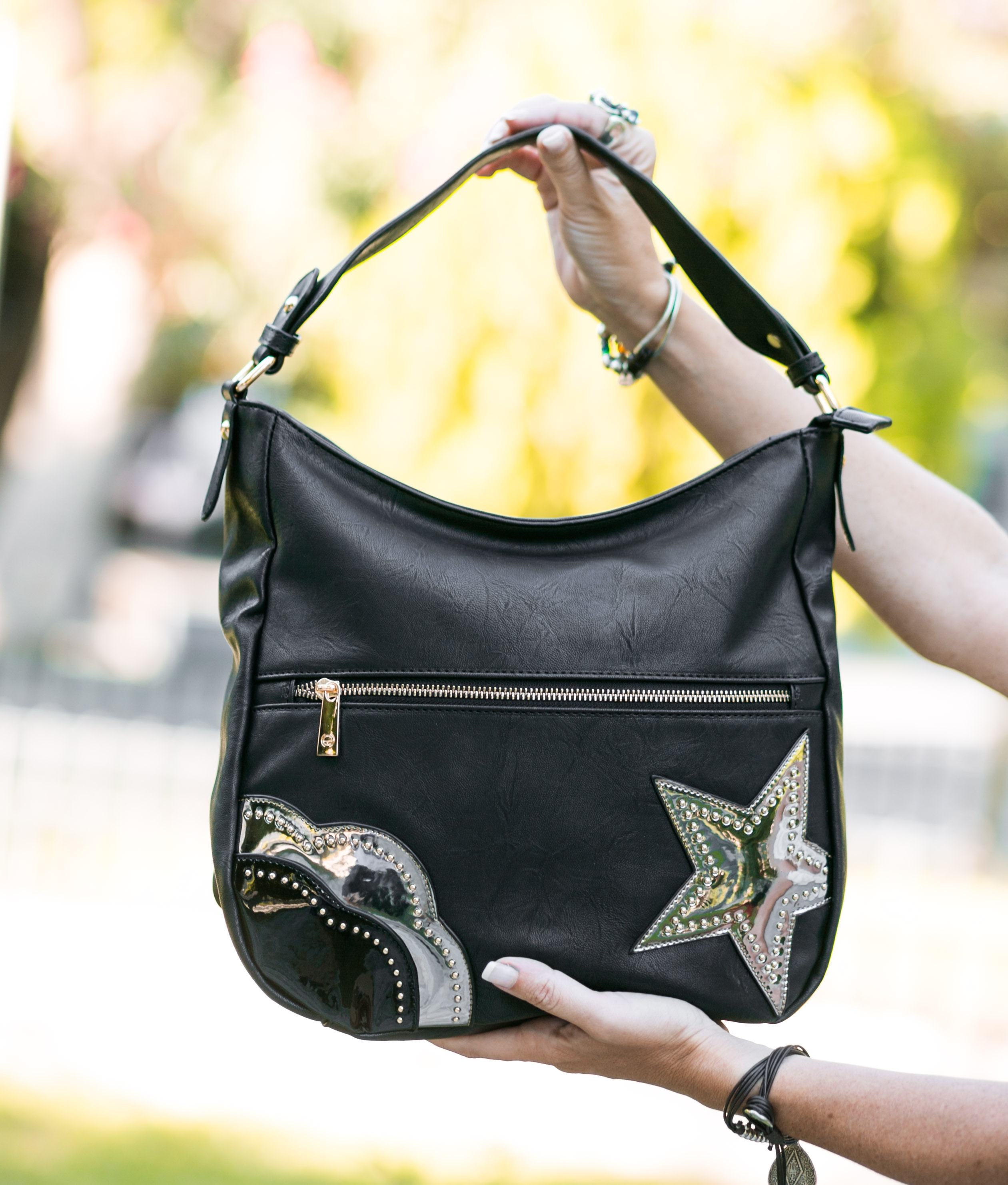 Shoulder Bag Ringo - Black