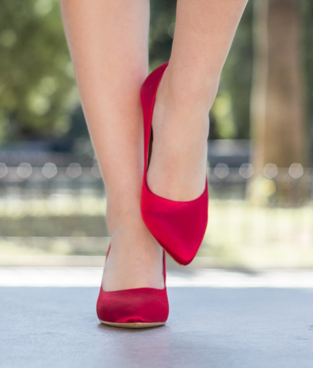 Chaussure Leire - Rouge