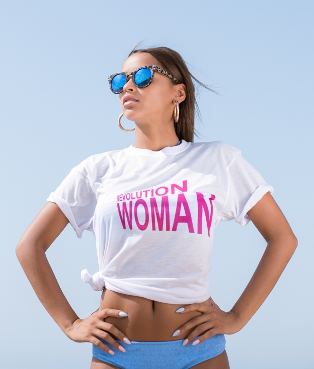 Camicia Revolution Woman - Bianco