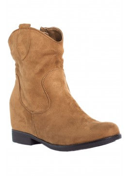 Bota West - Camel