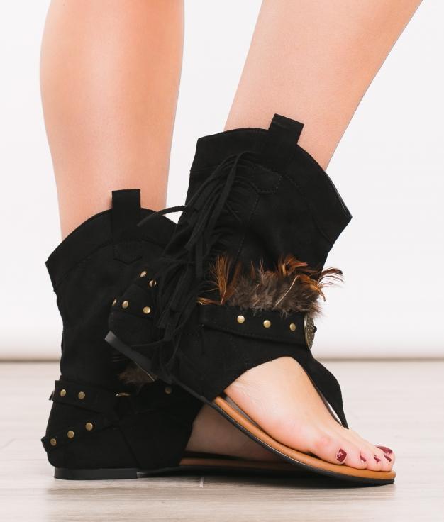 Sandale Reiki - Noir