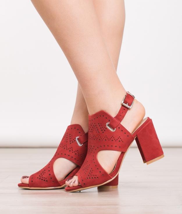 Sandalo Overt - Rosso