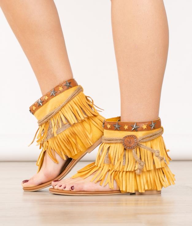 Sandale Dakani - Jaune
