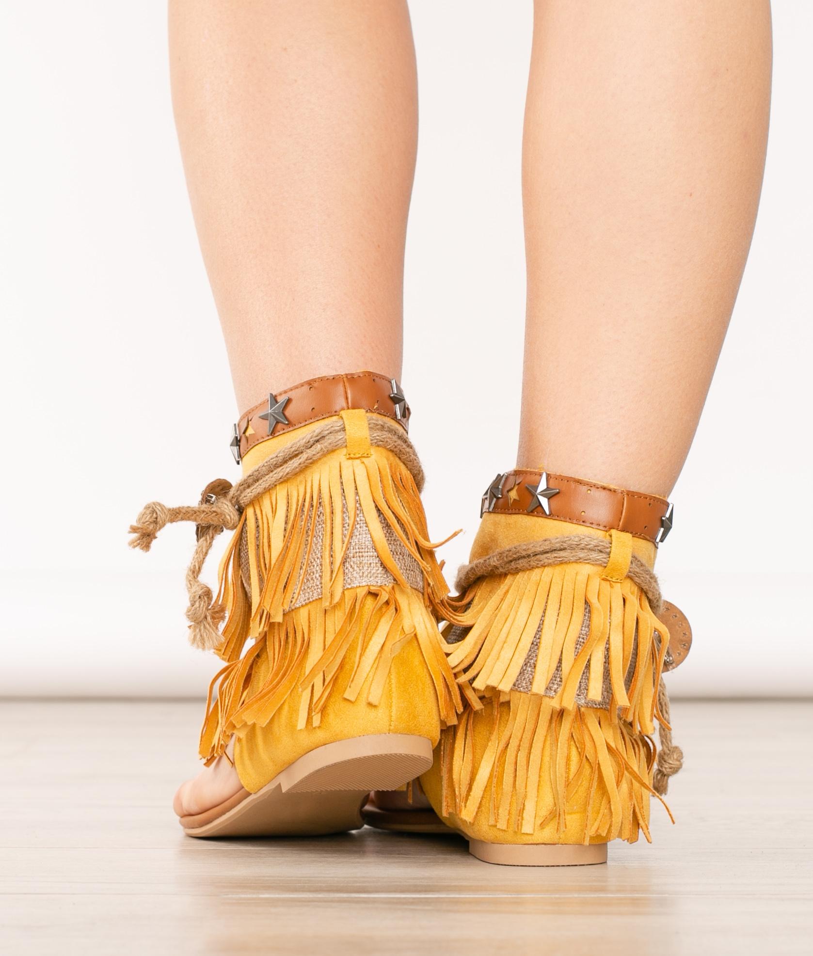 Sandalo Dakani - Nero