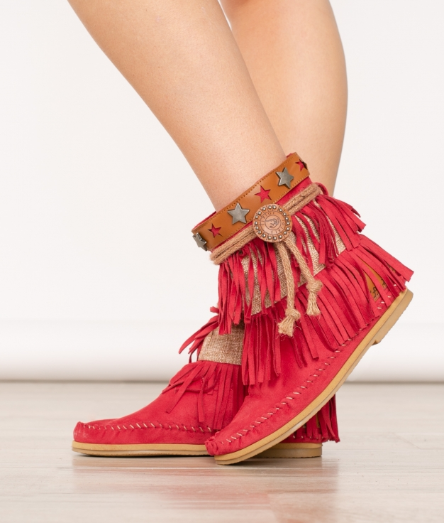 Bota Indianini Karma - Red