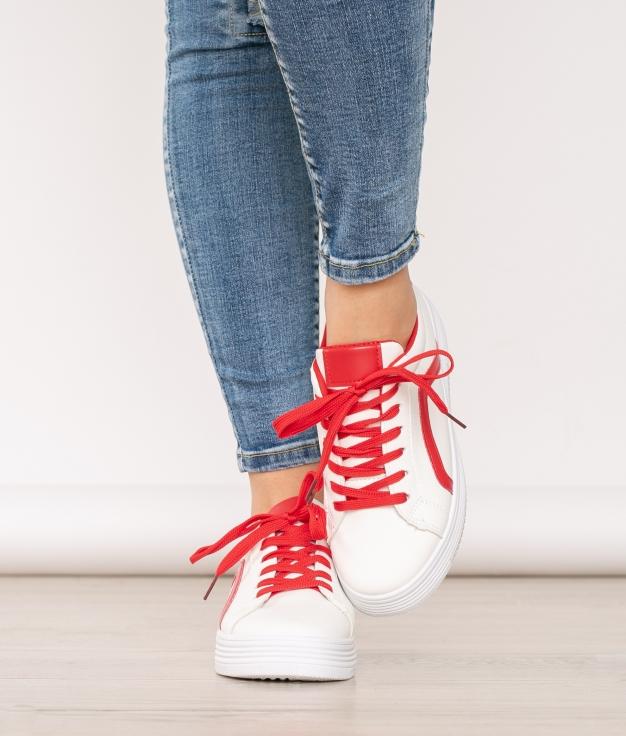 Sneakers Pontevedra - Rouge
