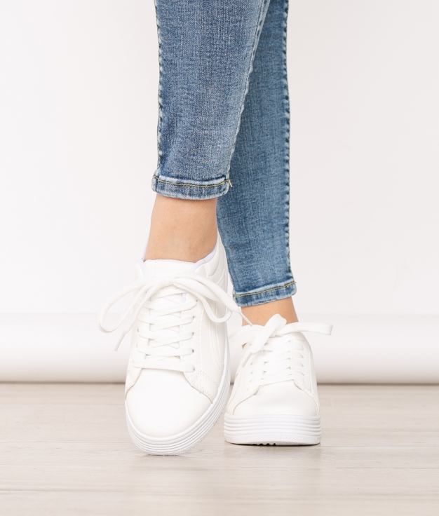 Sneakers Pontevedra - Blanc