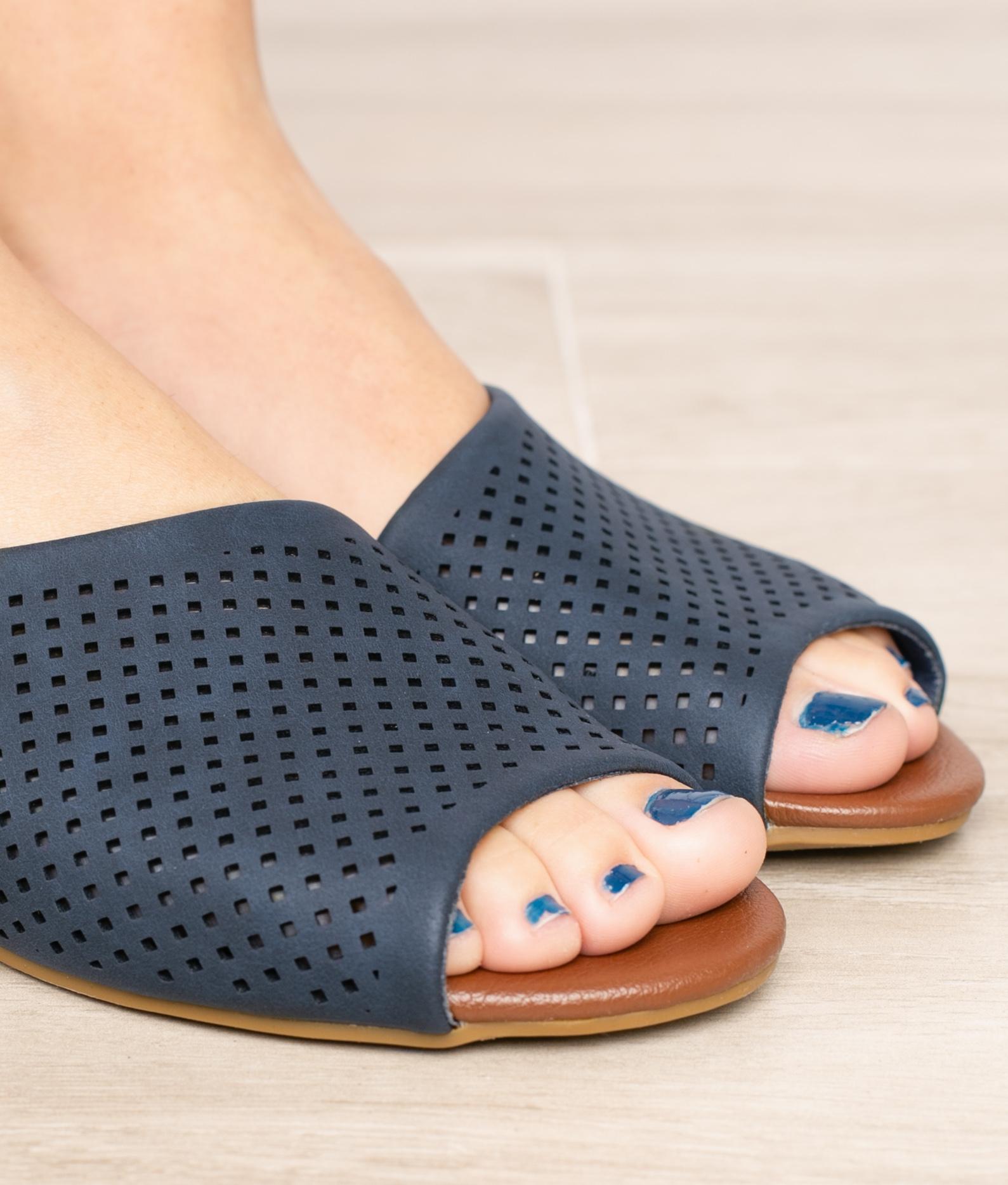 Slippers Sindel - White