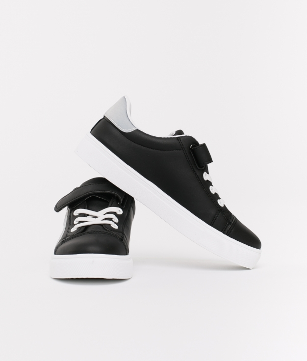 Sneakers Elsa Fille - Noir