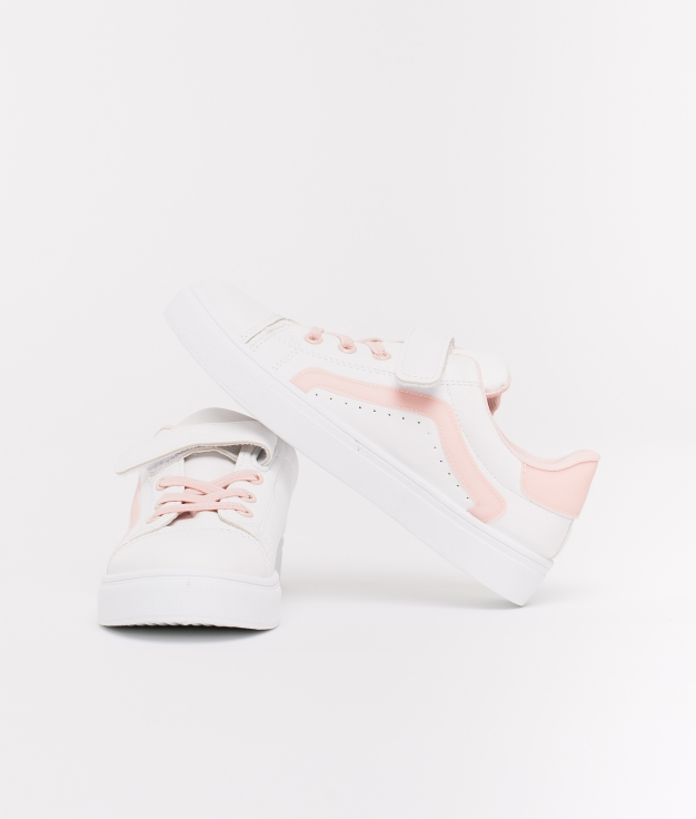 Sneakers Elsa Fille - Rose