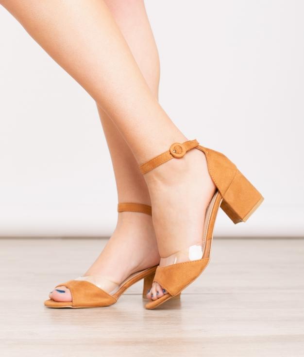 Sandale De Tacón Kery - Chameau