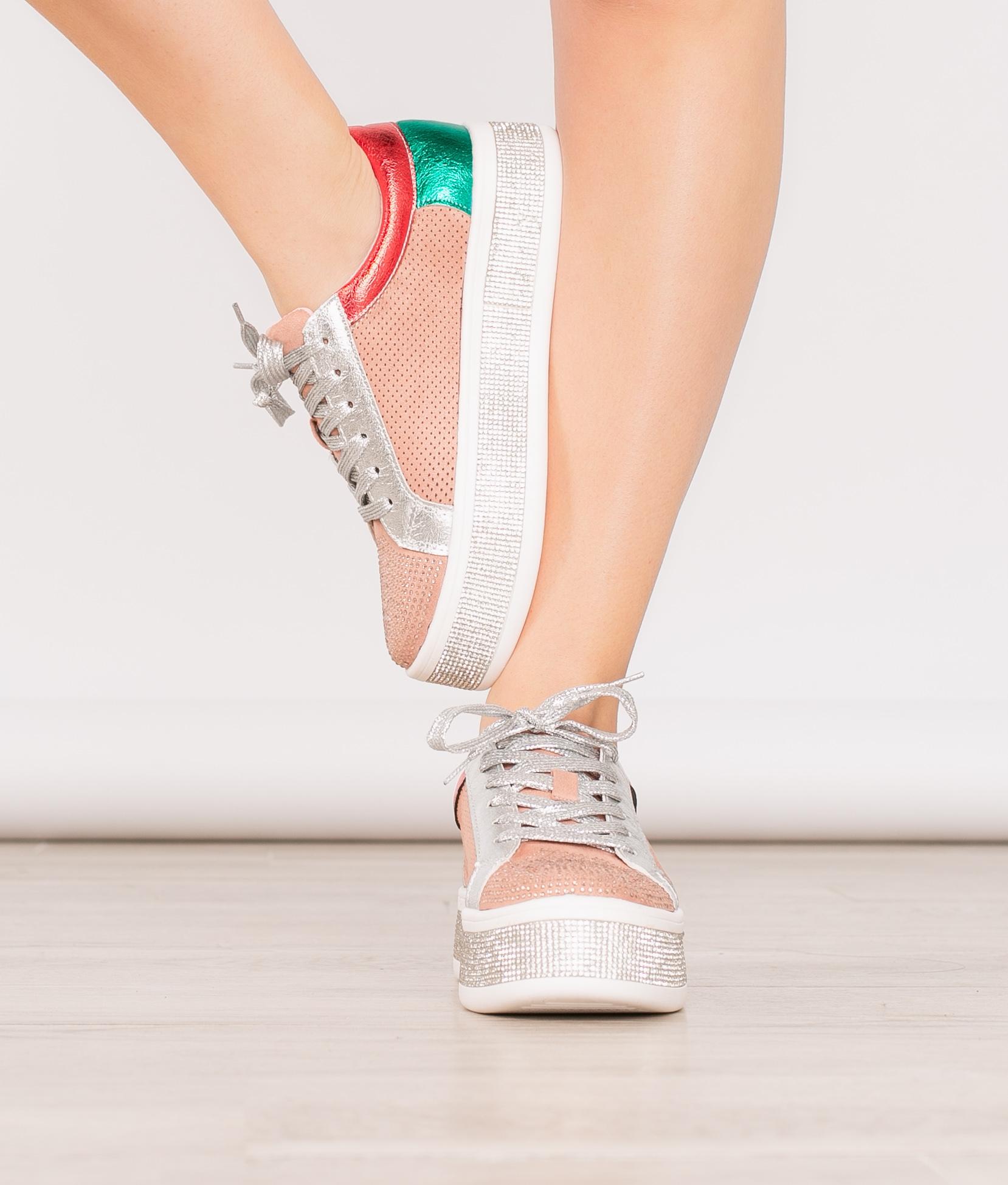 Sneakers Disco - Rosa