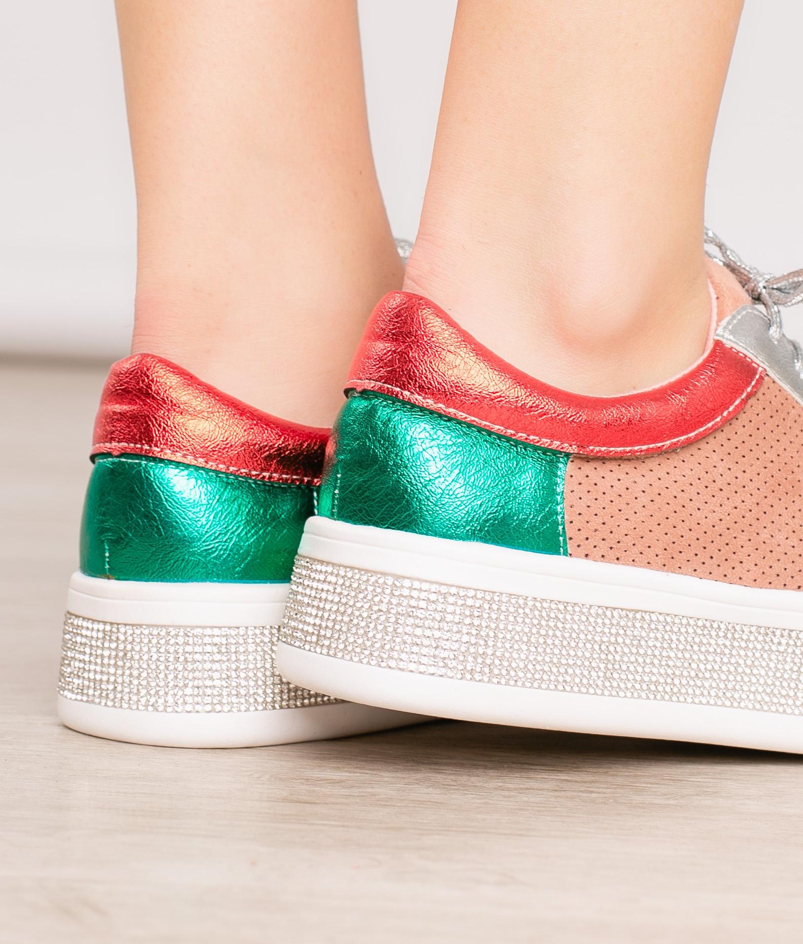 Sneakers Disco - Pink