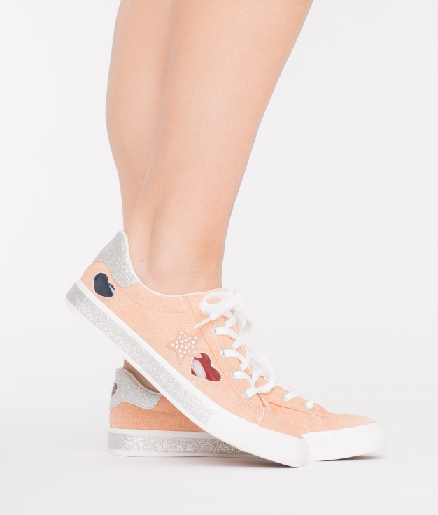 Sneakers Corazón - Pink