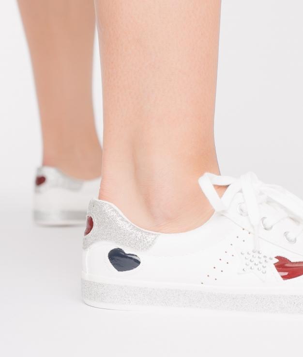 Sneakers Corazón - Blanc
