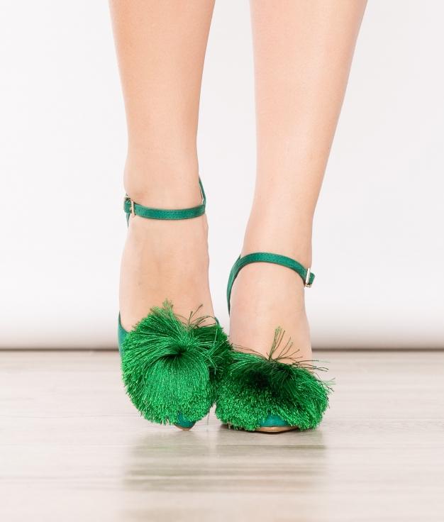 Sapato de Salto Cerdeña - Verde