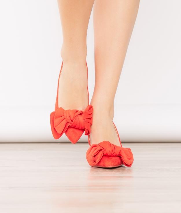 Sapato de Salto Navet - Laranja