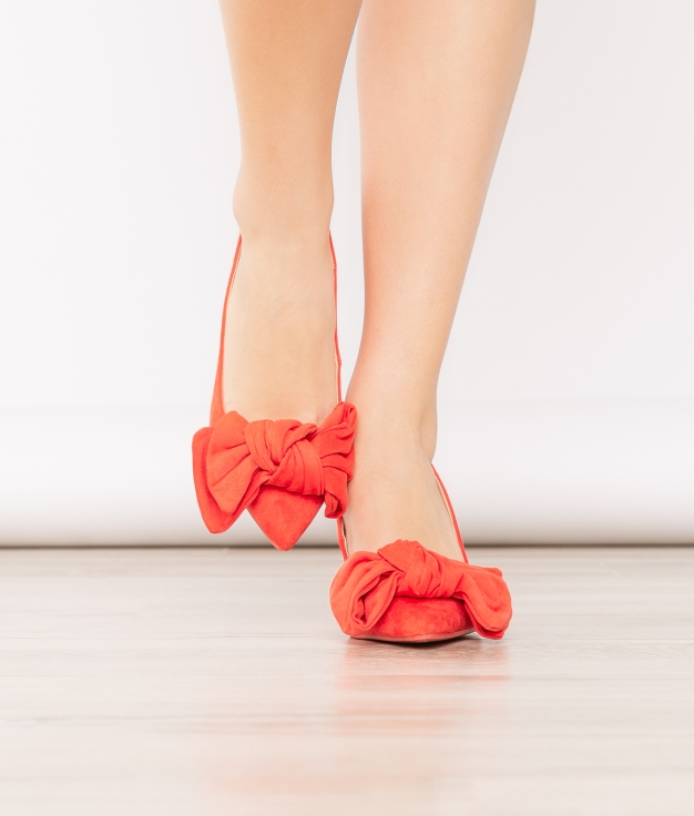 Zapato de Tacón Navet - Naranja