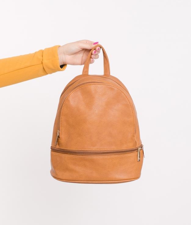 Backpack Zuria - Camel
