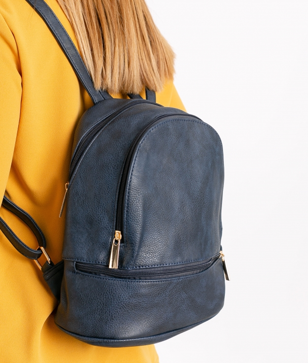 Backpack Zuria - Navy Blue