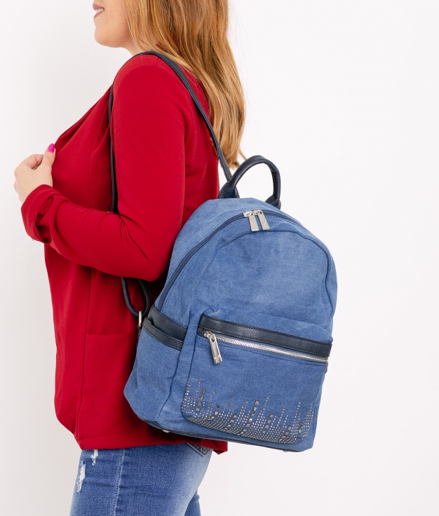 Backpack Alazne - Light Denim