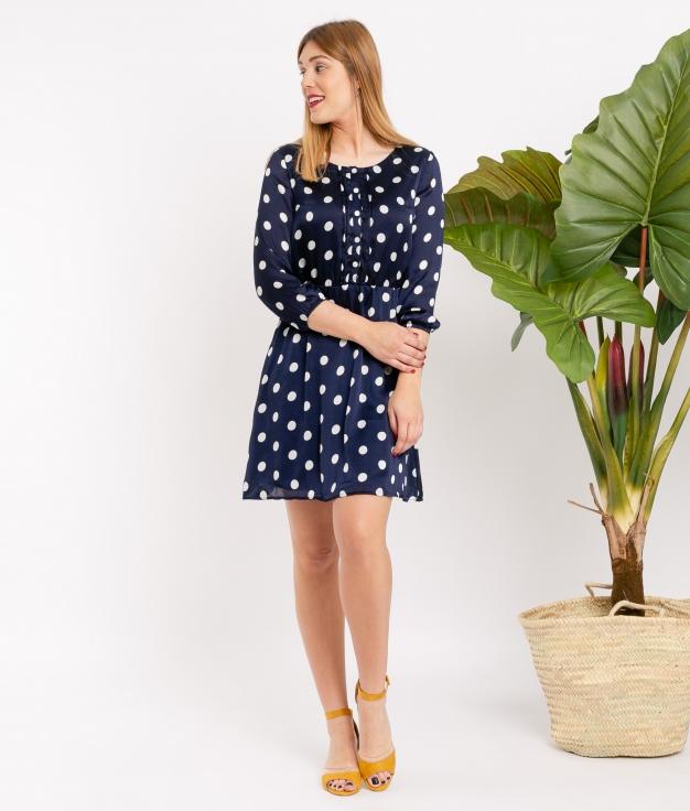 Vestido Tin - Azul Marino