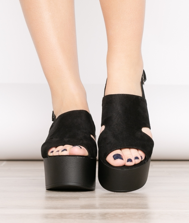 High Sandal Gru - Black