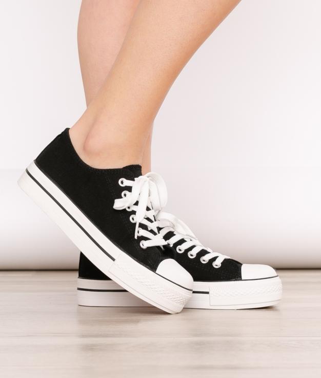 Sneakers Sia - Negro