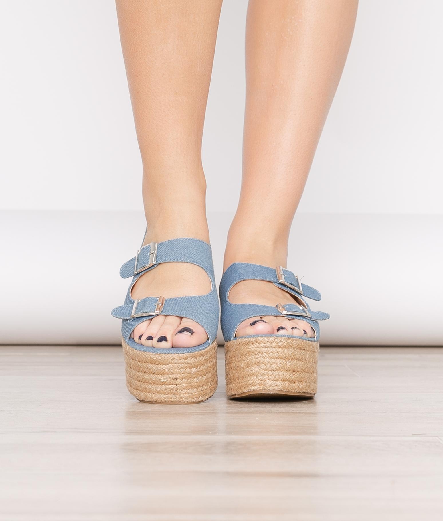 Sandalia Kedir - Azul