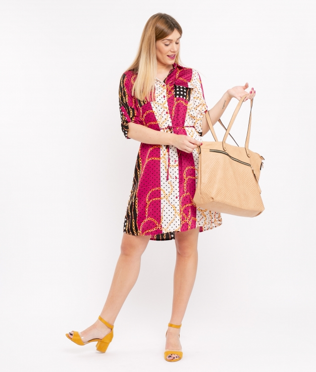 Dress Davalos - Bougainvillea