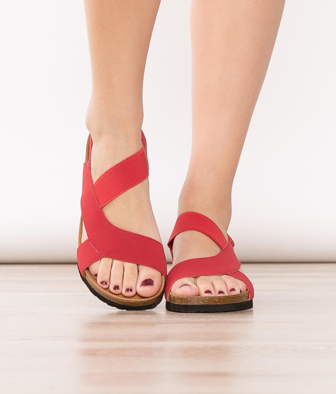 Sandale Luka - Rouge