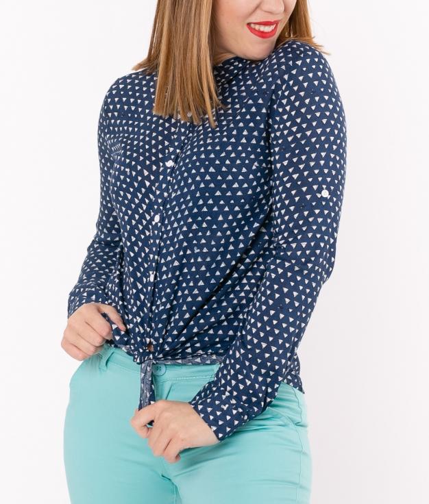 Camisa Ortiz - Azul Marino