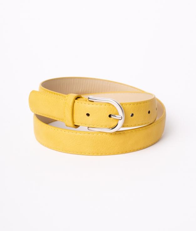 Cinturón Sia - Mostarda