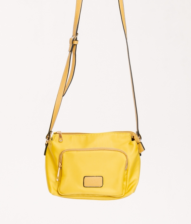 Shoulder bag Orfeo- Yellow