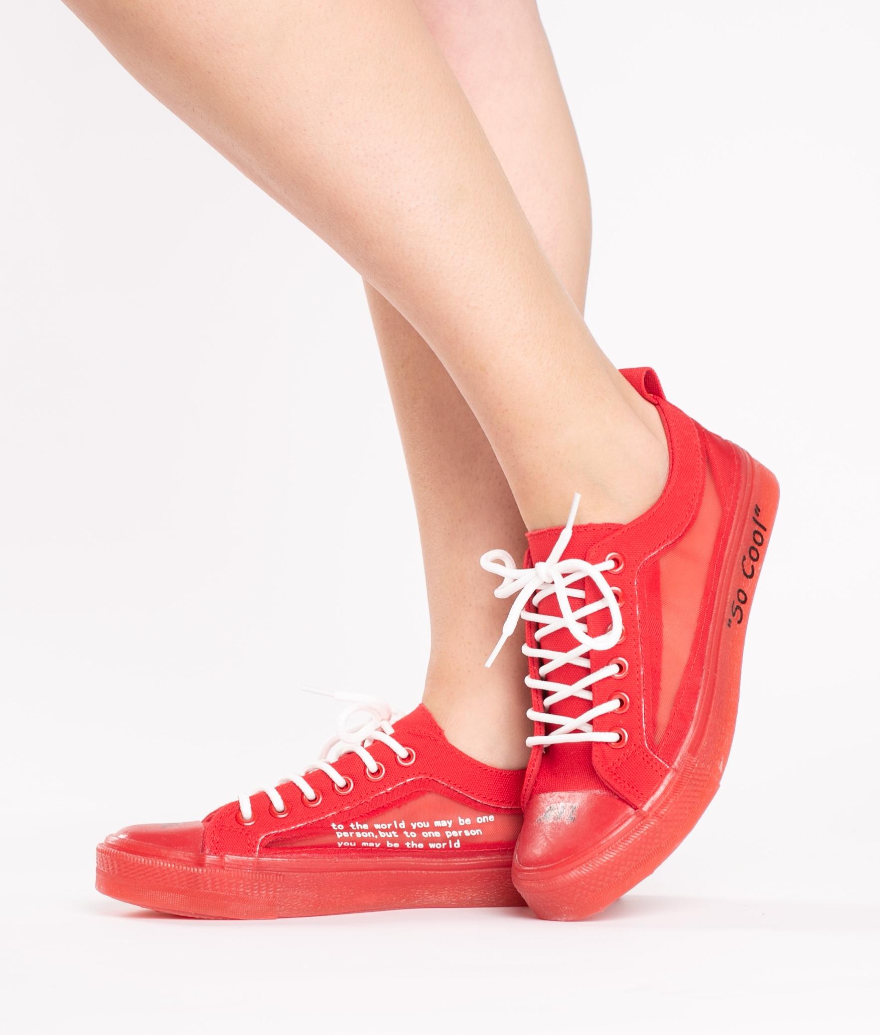 Sneakers Led - Noir