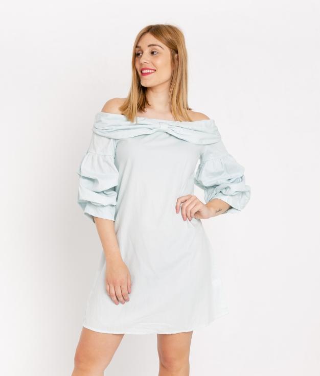 Dress Kent - Bleu Celeste
