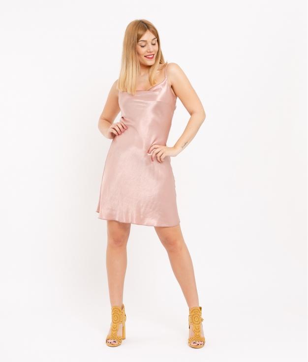 Vestido Emil - Rosa Palo
