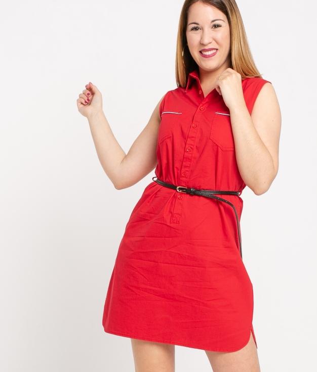 Vestido Kazuki - Rojo