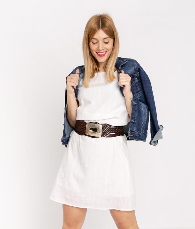 Vestido Satoru - Branco