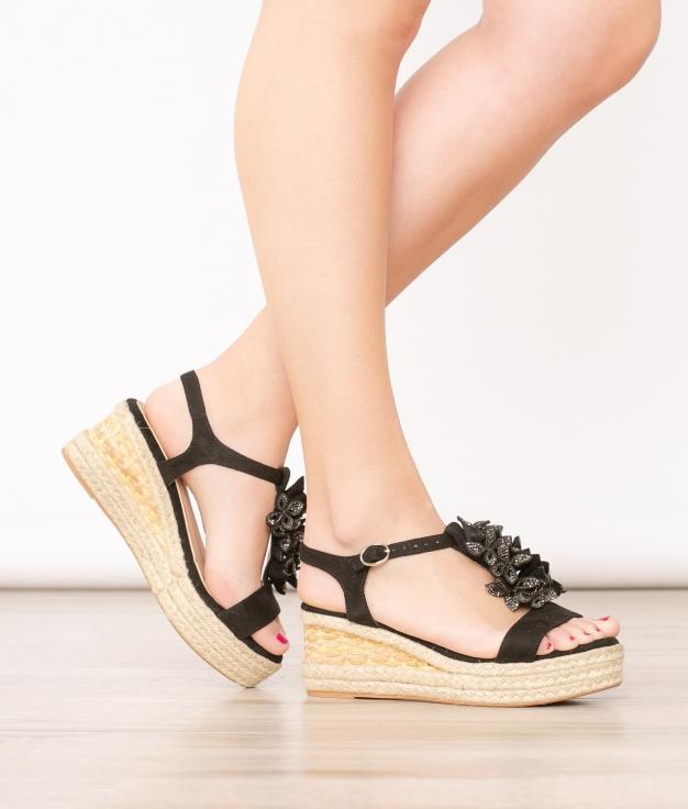 Sandalia Linet - Nero