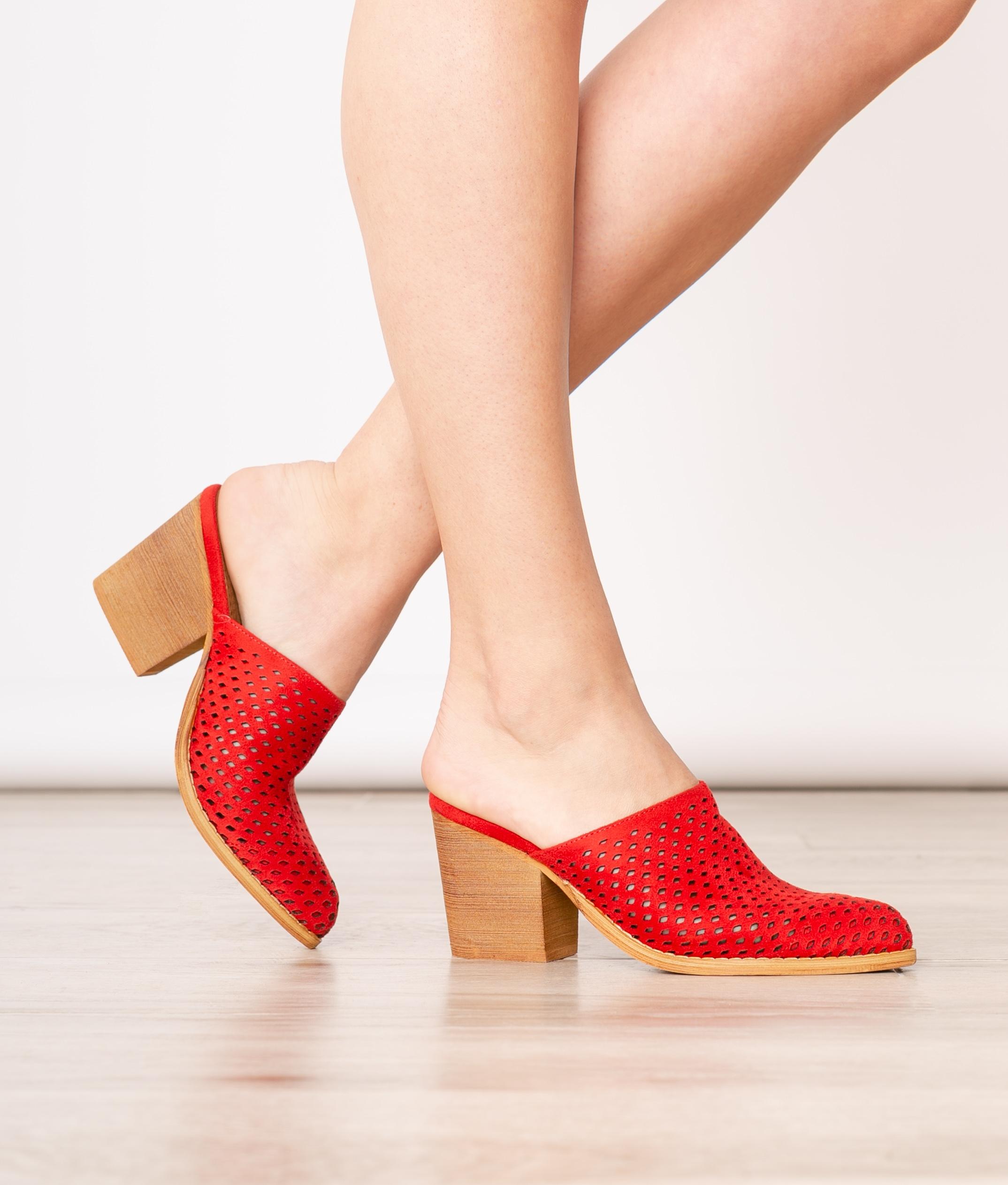 Mule Shoes Idara - Golden