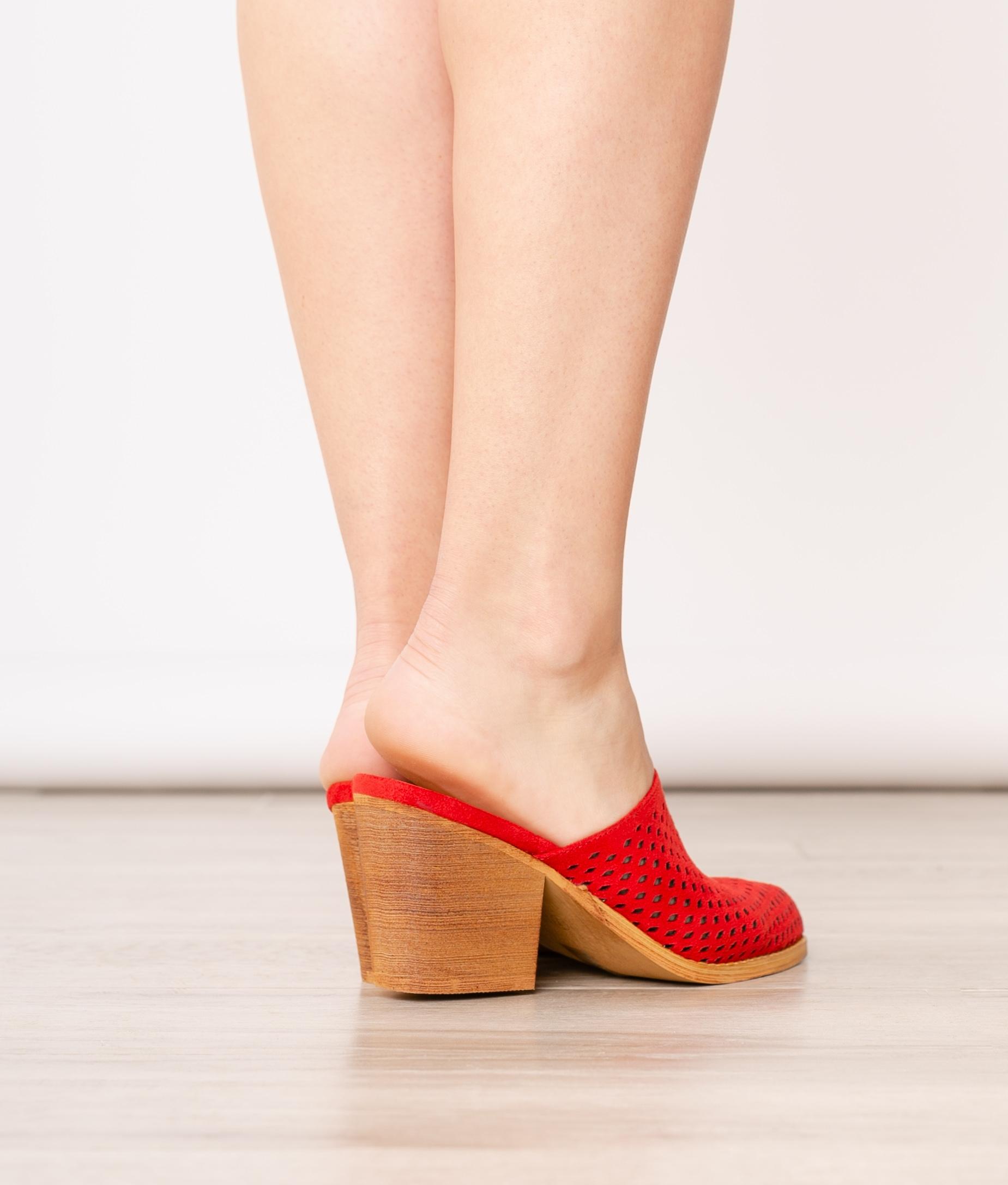 Chaussure Mule Idara - Or