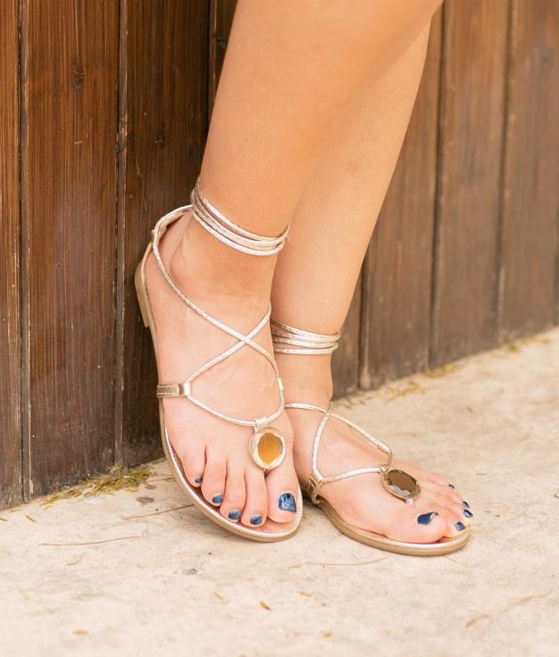 Sandal Asher - Gold
