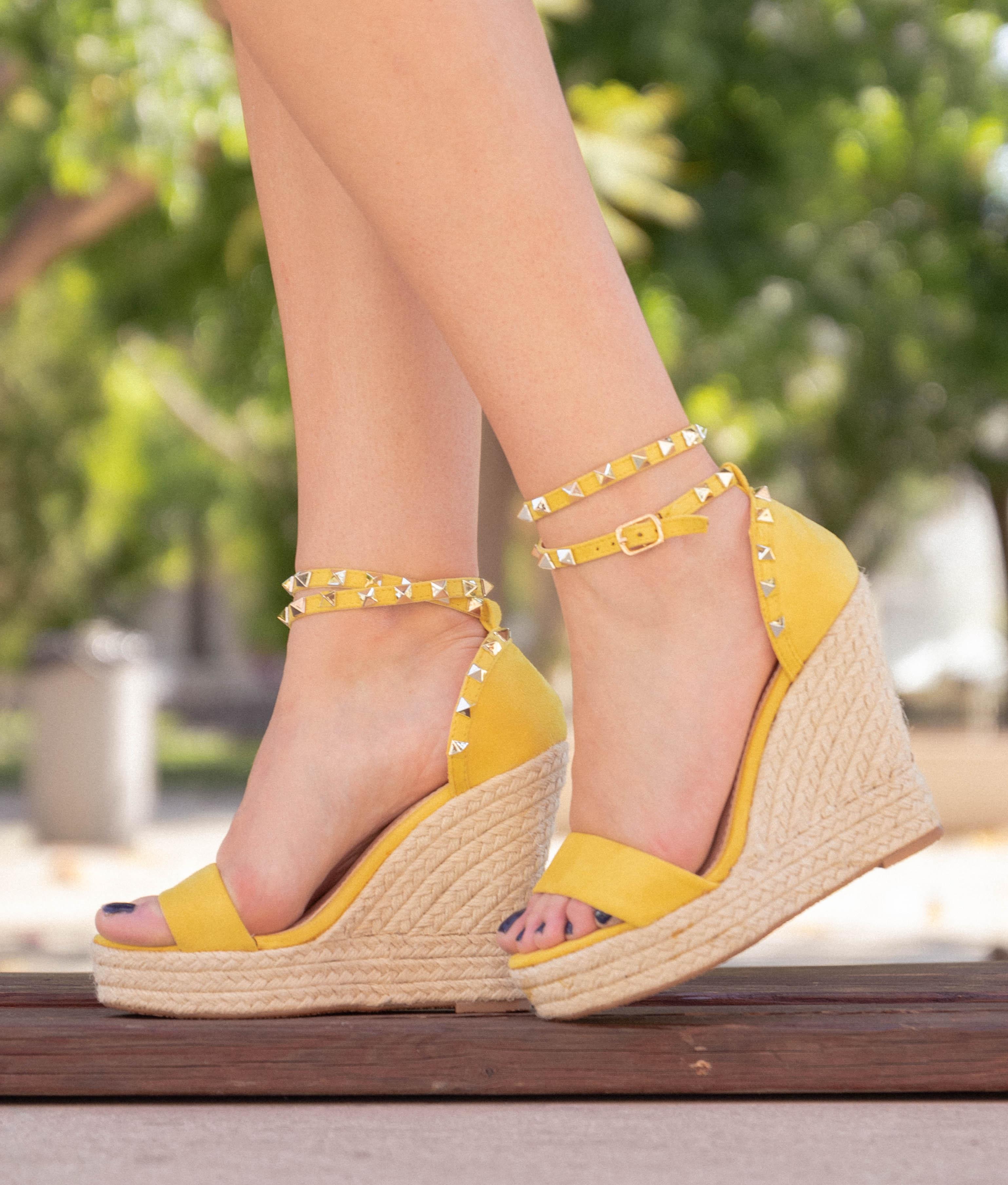 Cuña Marta - Yellow