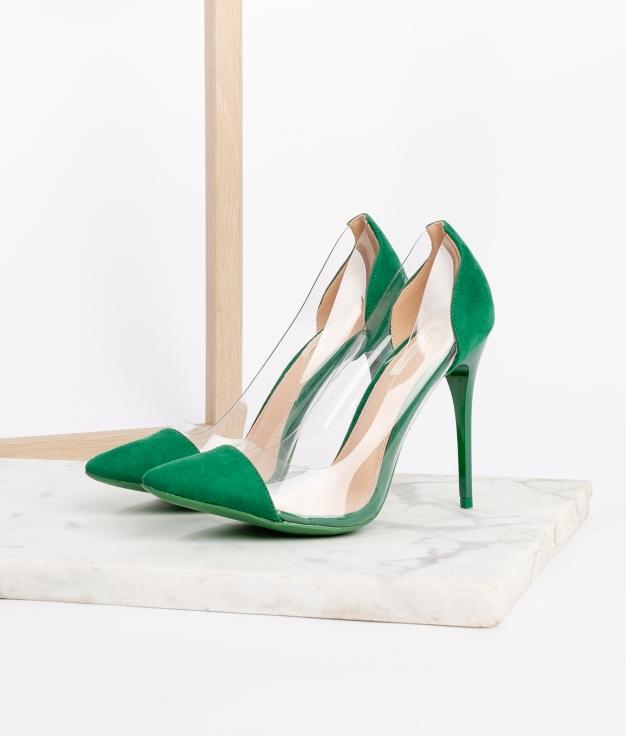 Sapato de Salto Denise - Verde