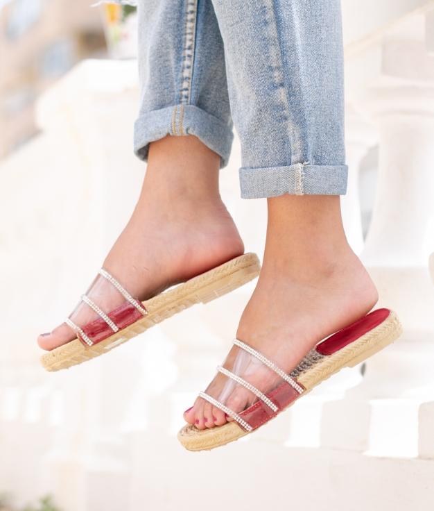 Sandale Naut - Rouge