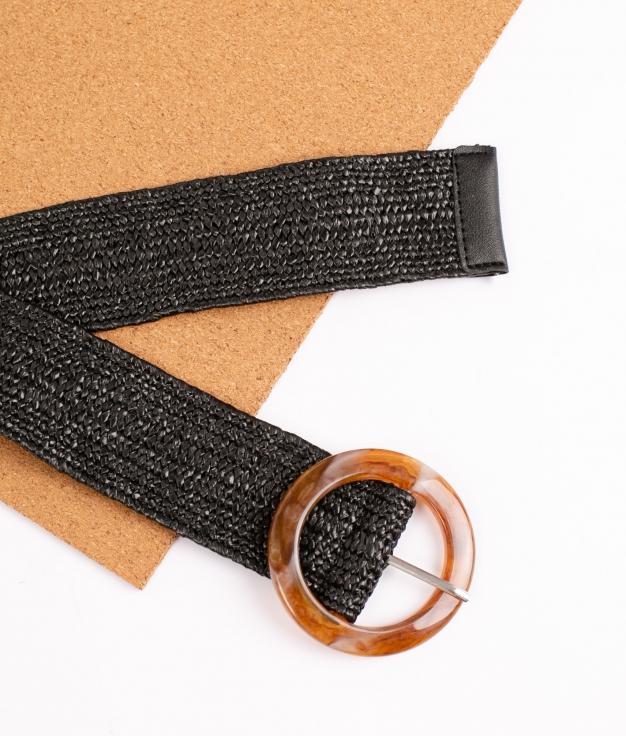 Cinturón Ikira - Negro