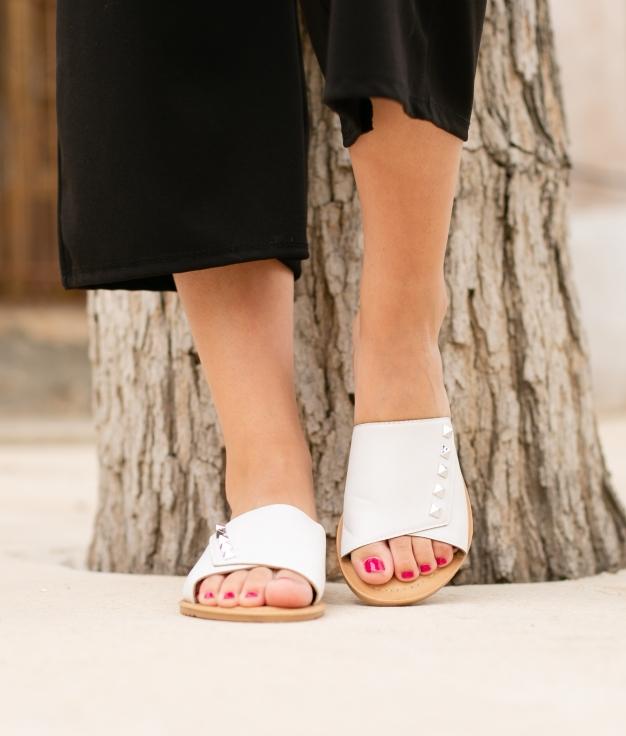 Sandalo Tracy - Bianco