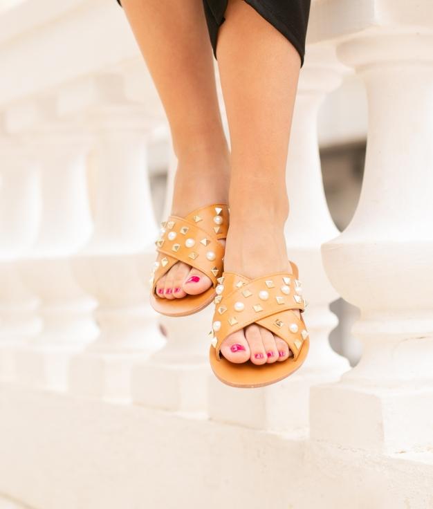 Sandalo Adara - Cammello