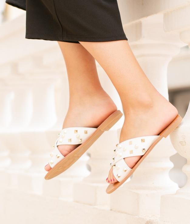 Sandalo Adara - Bianco